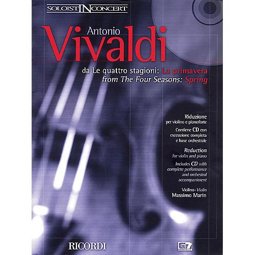 Ricordi Concerto in E Major La Primavera (Spring) from The Four Seasons RV269, Op.8 No.1 String by Vivaldi
