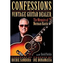 Hal Leonard Confessions of a Vintage Guitar Dealer Book Series Hardcover Written by Norman Harris