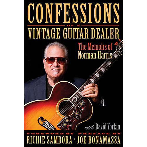 Hal Leonard Confessions of a Vintage Guitar Dealer Book Series Hardcover Written by Norman Harris-thumbnail
