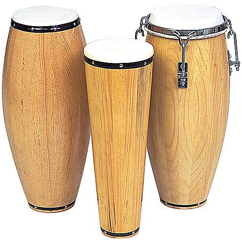 Rhythm Band Conga Non-Tunable Barrel 12 in. H x 5 in. Dia.