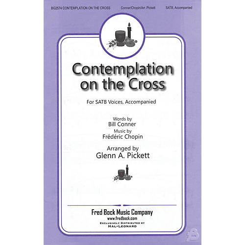 Fred Bock Music Contemplation on the Cross SATB arranged by Glenn A. Pickett-thumbnail