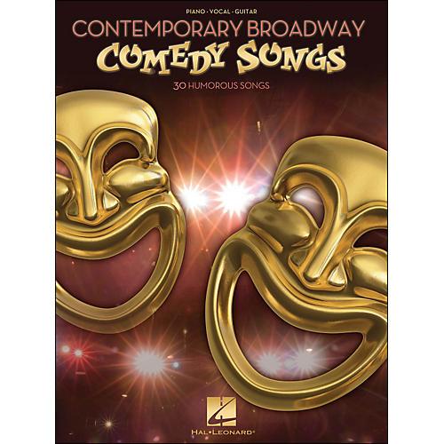 Hal Leonard Contemporary Broadway Comedy Songs arranged for piano, vocal, and guitar (P/V/G)