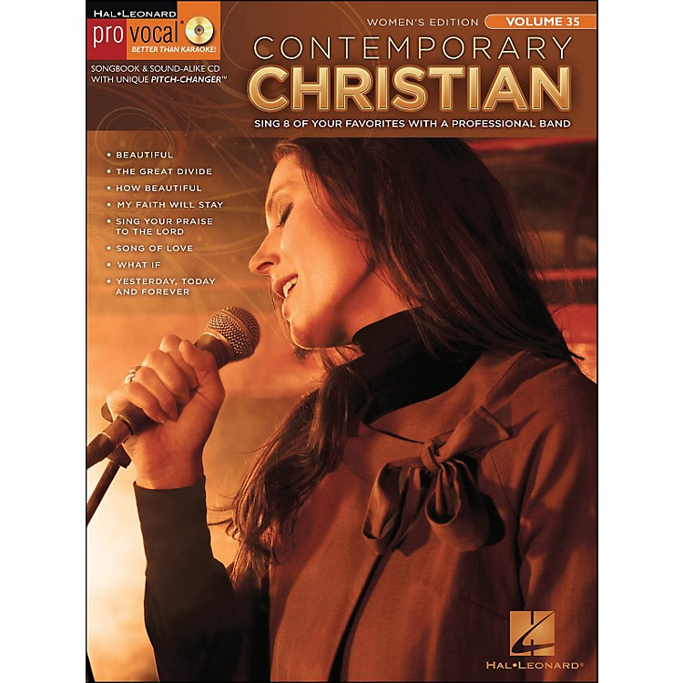 Hal Leonard Contemporary Christian - Pro Vocal Songbook Women's Edition Volume 35 Book/CD