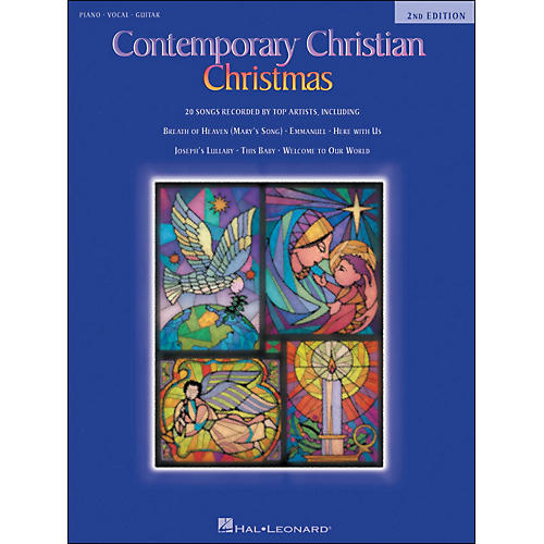 Hal Leonard Contemporary Christian Christmas 2nd Edition arranged for piano, vocal, and guitar (P/V/G)