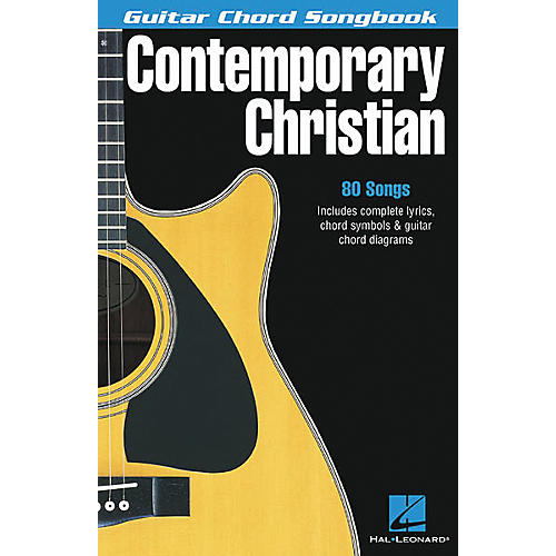 Hal Leonard Contemporary Christian Guitar Chord Songbook-thumbnail