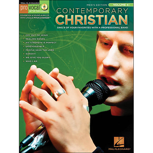 Hal Leonard Contemporary Christian Pro Vocal Songbook & CD - Men's Edition Volume 41-thumbnail