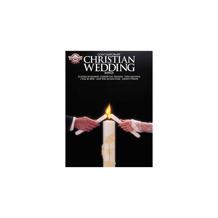 Hal Leonard Contemporary Christian Wedding Songs Fingerstyle Guitar Tab Book