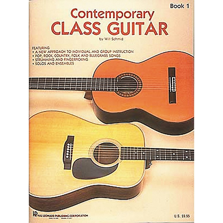 Hal Leonard Contemporary Class Guitar 1 Method Book