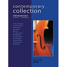 Ricordi Contemporary Collection for Violin Solo String Solo Series Softcover
