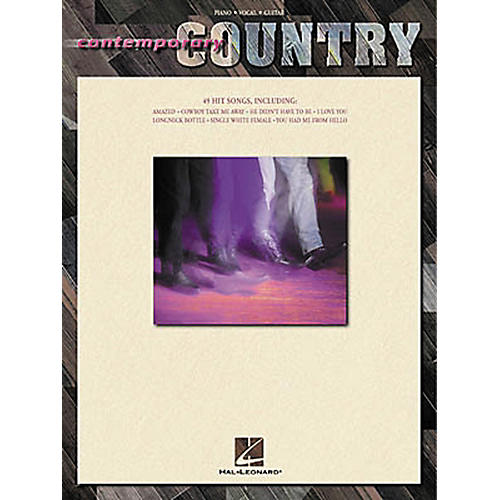 Hal Leonard Contemporary Country Piano, Vocal, Guitar Songbook-thumbnail