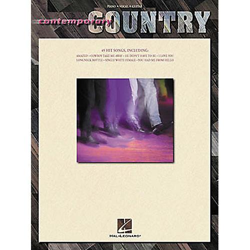 Hal Leonard Contemporary Country Piano, Vocal, Guitar Songbook