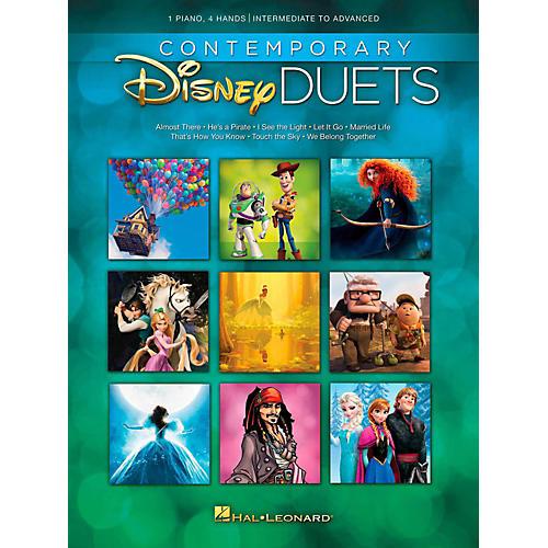 Hal Leonard Contemporary Disney Duets - Intermediate to Advanced Level-thumbnail