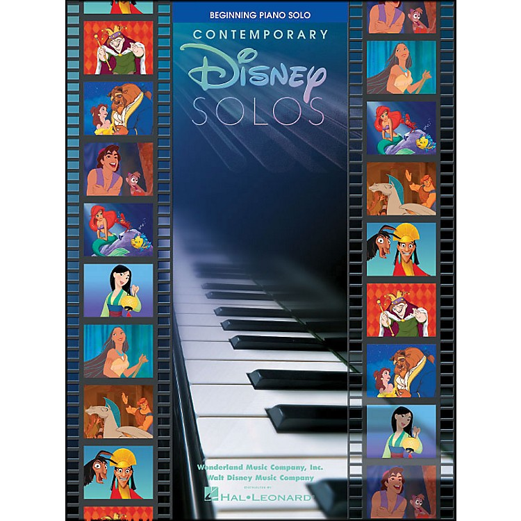Hal Leonard Contemporary Disney Solos Beginning Piano Solo