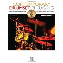 Hal Leonard Contemporary Drumset Phrasing Book/CD Drumset Instruction