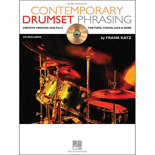 Hal Leonard Contemporary Drumset Phrasing Book/CD Drumset Instruction-thumbnail