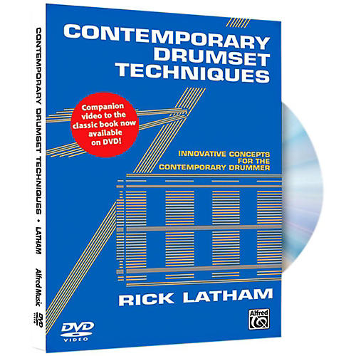 Alfred Contemporary Drumset Techniques DVD-thumbnail