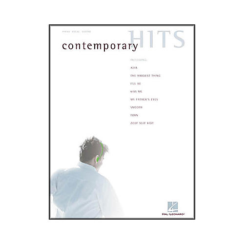 Hal Leonard Contemporary Hits Piano, Vocal, Guitar Songbook