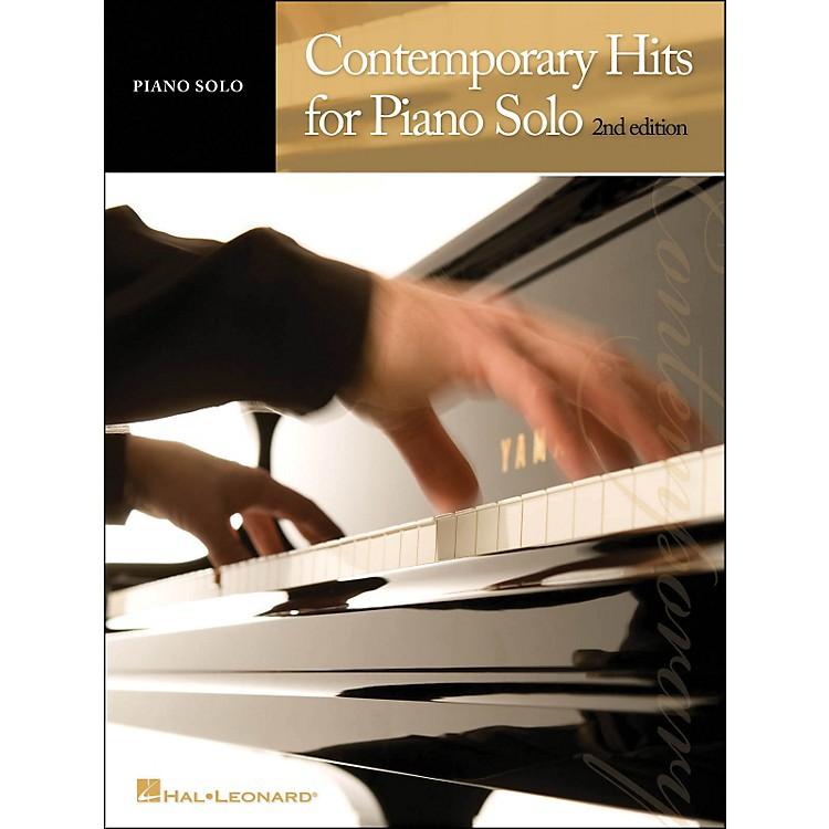 Hal LeonardContemporary Hits for Piano Solo 2nd Edition