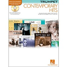 Hal Leonard Contemporary Hits for Trumpet Book/CD Instrumental Play-Along