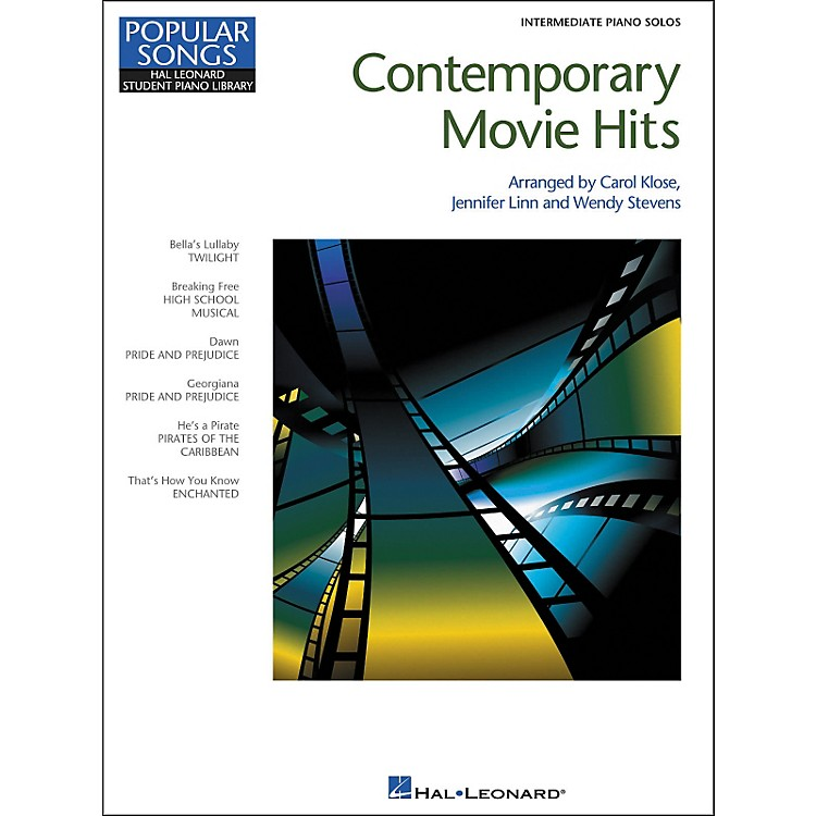 Hal Leonard Contemporary Movie Hits - Hal Leonard Student Piano Library Popular Songs Series - Intermediate Level