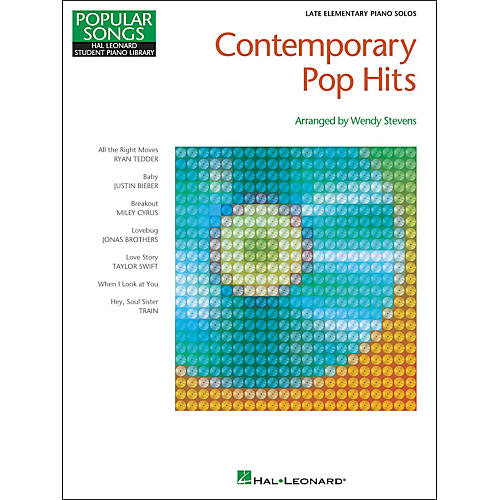 Hal Leonard Contemporary Pop Hits - Late Elementary Piano Solos Songbook-thumbnail