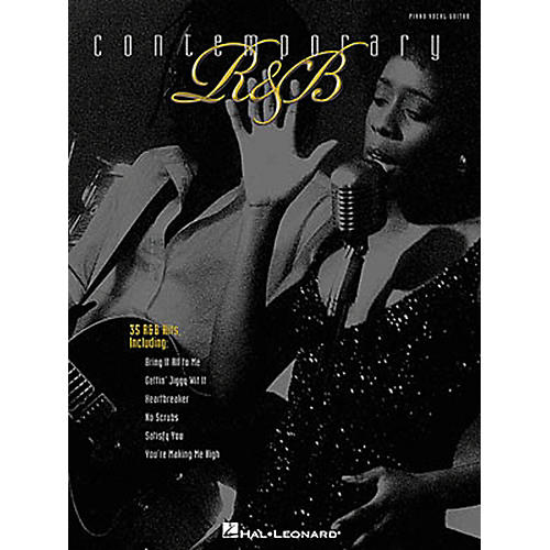 Hal Leonard Contemporary R&B Piano, Vocal, Guitar Songbook-thumbnail