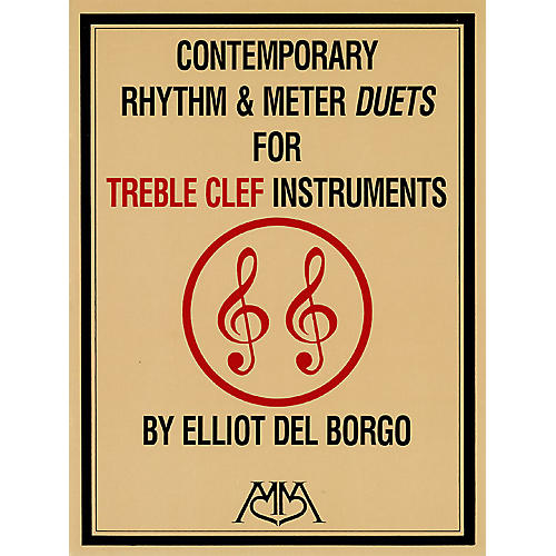 Hal Leonard Contemporary Rhythm and Meter Duets Meredith Music Resource Series by Elliot DelBorgo-thumbnail
