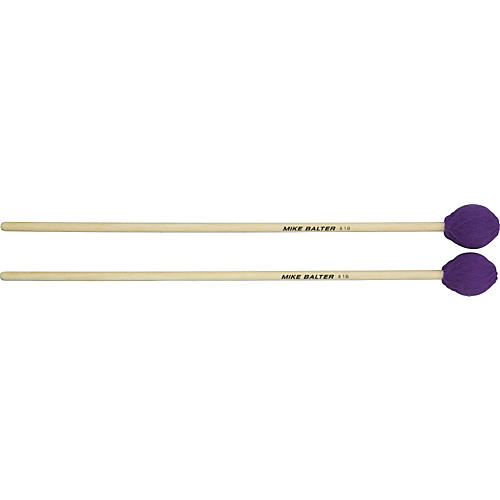 Mike Balter Contemporary Series Birch Marimba Mallets Purple Yarn Hard