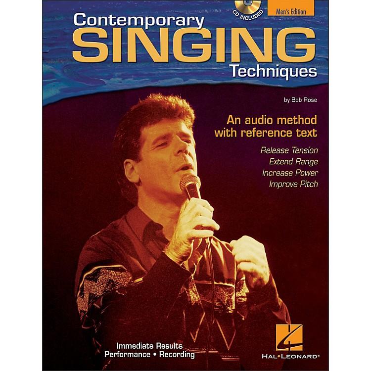 Hal LeonardContemporary Singing Techniques - Men's Edition Book/CD