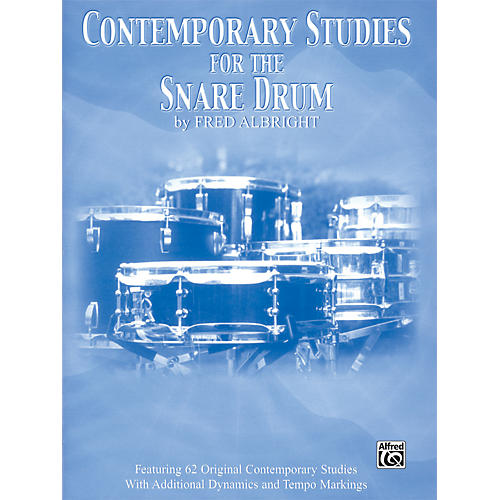 Alfred Contemporary Studies for the Snare Drum Book-thumbnail