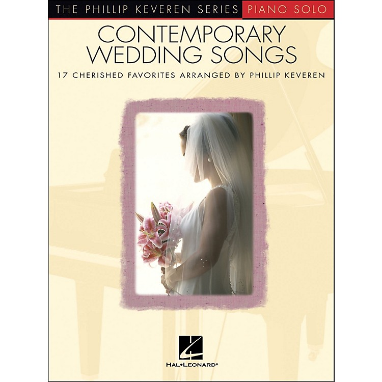 Hal Leonard Contemporary Wedding Songs