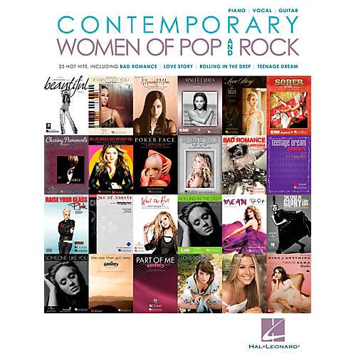 Hal Leonard Contemporary Women Of Pop & Rock Piano/Vocal/Guitar Songbook