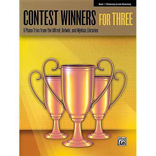 Alfred Contest Winners for Three Book 1 Elementary / Late Elementary Piano-thumbnail