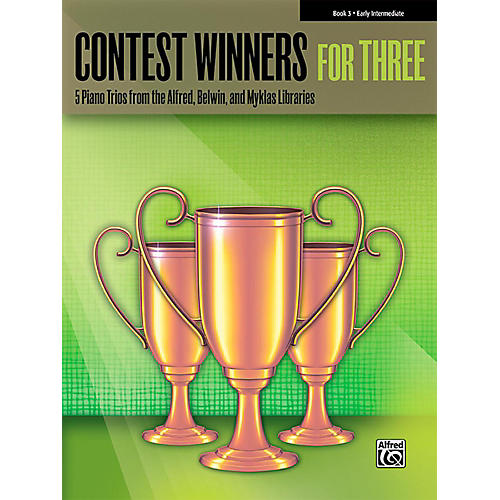 Alfred Contest Winners for Three Book 3  Early Intermediate Piano-thumbnail