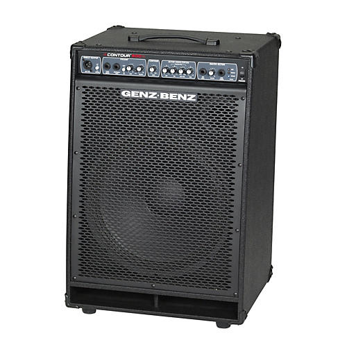 Genz Benz Contour 500 Series CTR500-115T 500W 1x15 Bass  Combo Amp