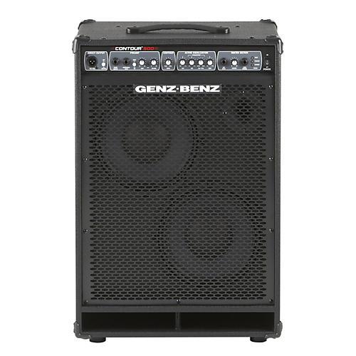 Genz Benz Contour 500 Series CTR500-210T 500W 2x10 Bass Combo Amp-thumbnail