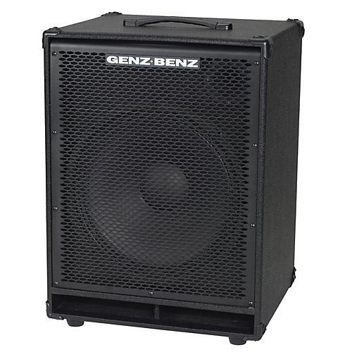 Genz Benz Contour 500 Series CTR500-EXT115 1x15 Bass Speaker Cabinet-thumbnail