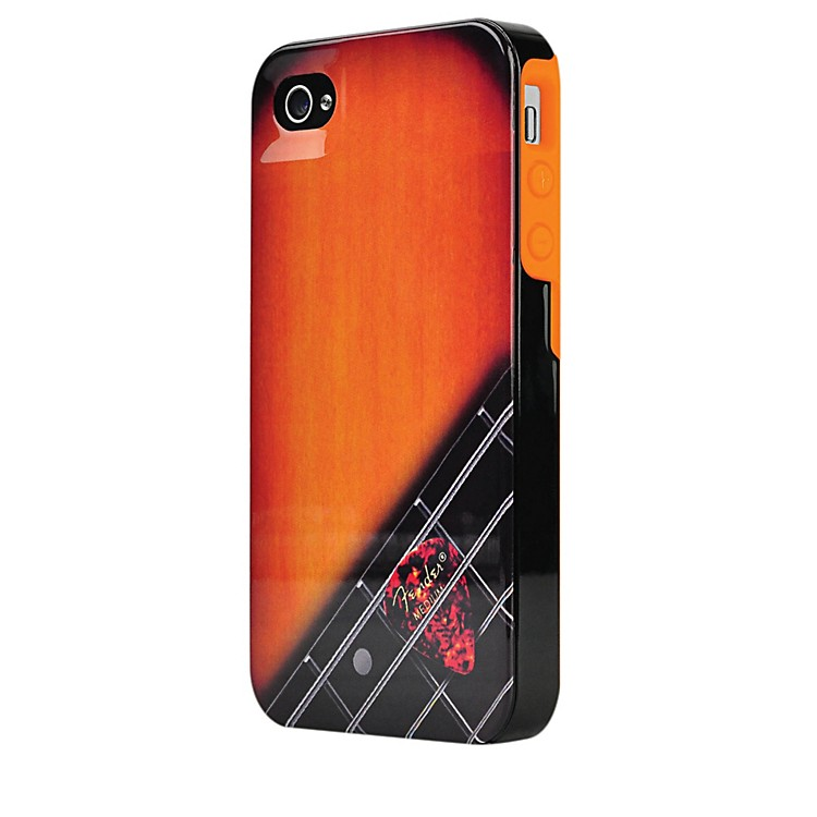 Hal Leonard Contour Design Fender iPhone 4/4S Wood Grain Hard Gloss Protective Case