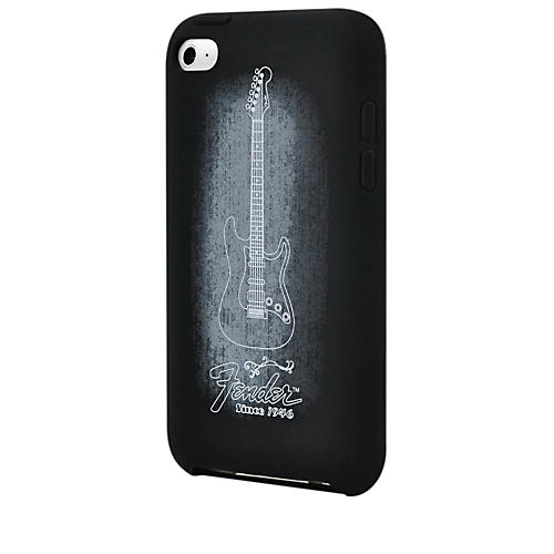 Hal Leonard Contour Design Fender iTouch Genuine Black Silicone Protective Case