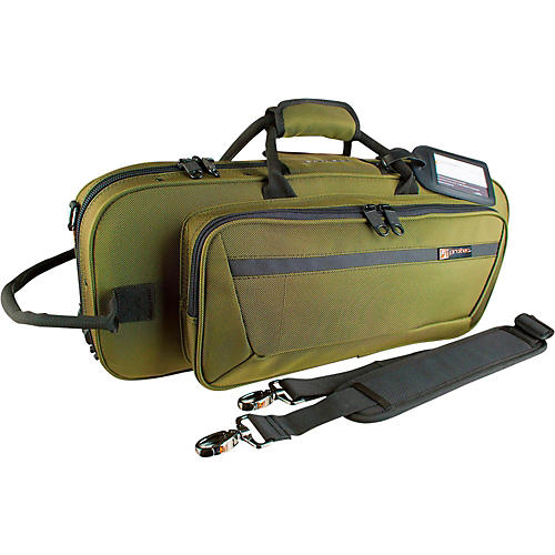 Protec Contoured PRO PAC Trumpet Case Army Green