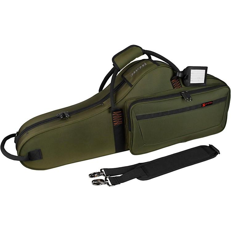 ProtecContoured Tenor PRO PAC Saxophone CaseSurplus Green