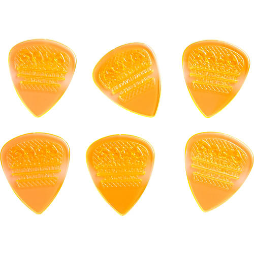 Dava Control Pick Gels Medium 6-Pack Clear Orange