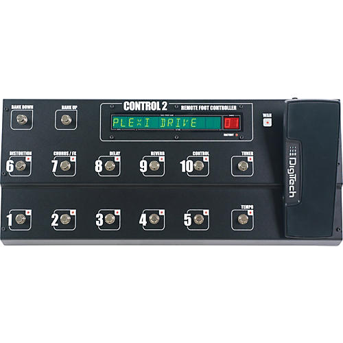 DigiTech Control2 Foot Controller Black