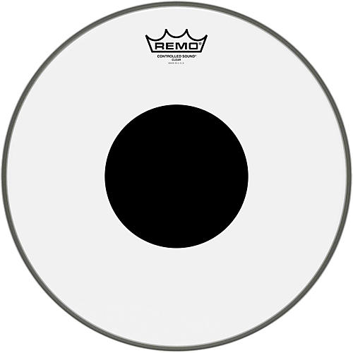 Remo Controlled Sound Black Dot Batter Head-thumbnail