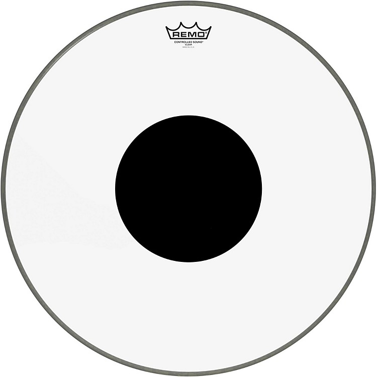 RemoControlled Sound Clear with Black Dot Bass Drum32 inches