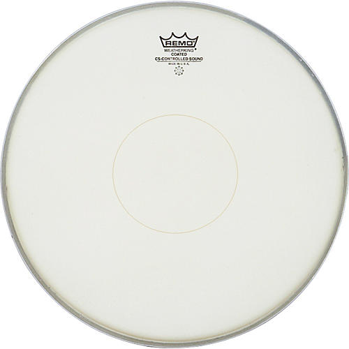 Remo Controlled Sound Coated Clear Dot Bottom Dot Snare Batter-thumbnail