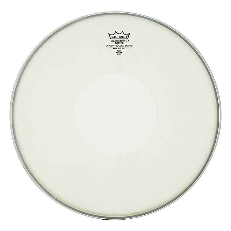 Remo Controlled Sound Coated Dot Top Snare Batter  14 Inches