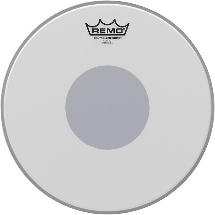 Remo Controlled Sound Reverse Dot Coated Snare Head  12 Inches