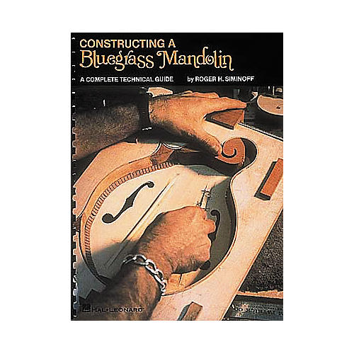 Hal Leonard Contructing a Bluegrass Mandolin Book