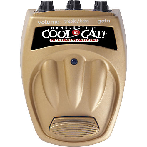 Danelectro Cool Cat CTO-2 Transparent Overdrive V2 Guitar Effects Pedal